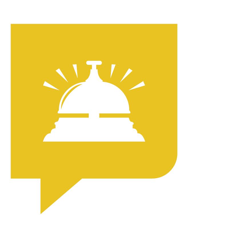 Bel KonseptS in het geel voor trajectonderdeel communicatie