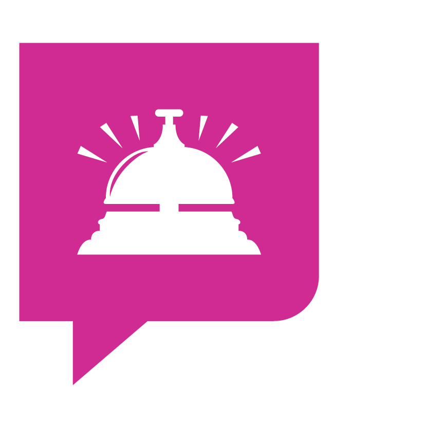 Bel KonseptS in het roze voor trajectonderdeel organisatie