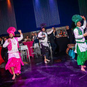 Dansers tijdens het evenement van Xeikon door KonseptS