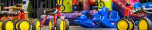 Speelgoed voor kinderen tijdens een evenement van KonseptS bij Graco