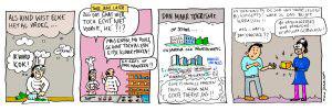 Striptekening van Elke van KonseptS