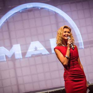 sfeerfoto tijdens het evenement van Man