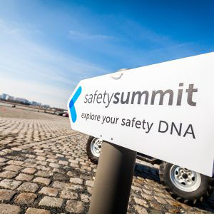 sfeerfoto tijdens het evenement van Safety Summit