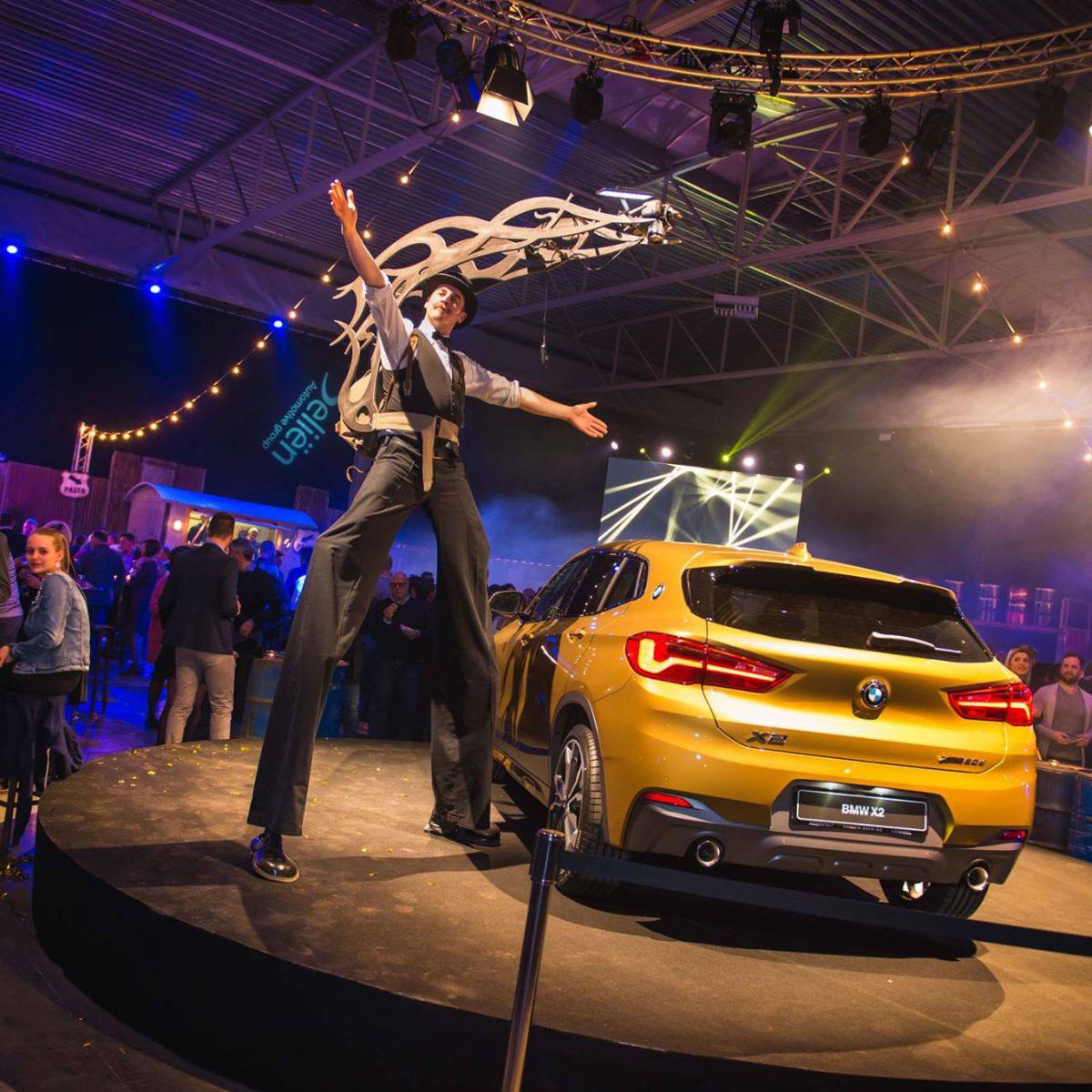 BMW Garage Beliën bedrijfsevenement organiseren