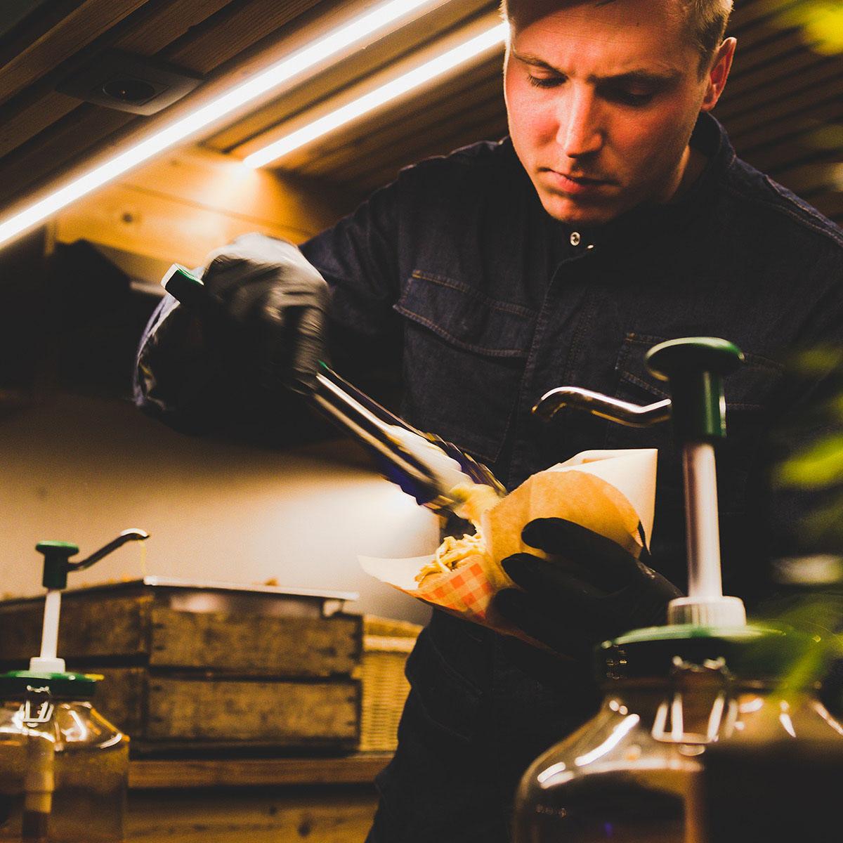 BMW Garage Beliën bedrijfsevenement catering