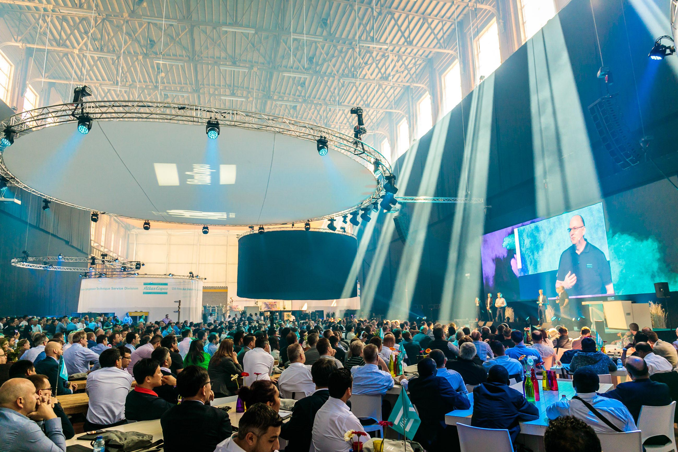 Atlas Copco bedrijfsevenement organiseren