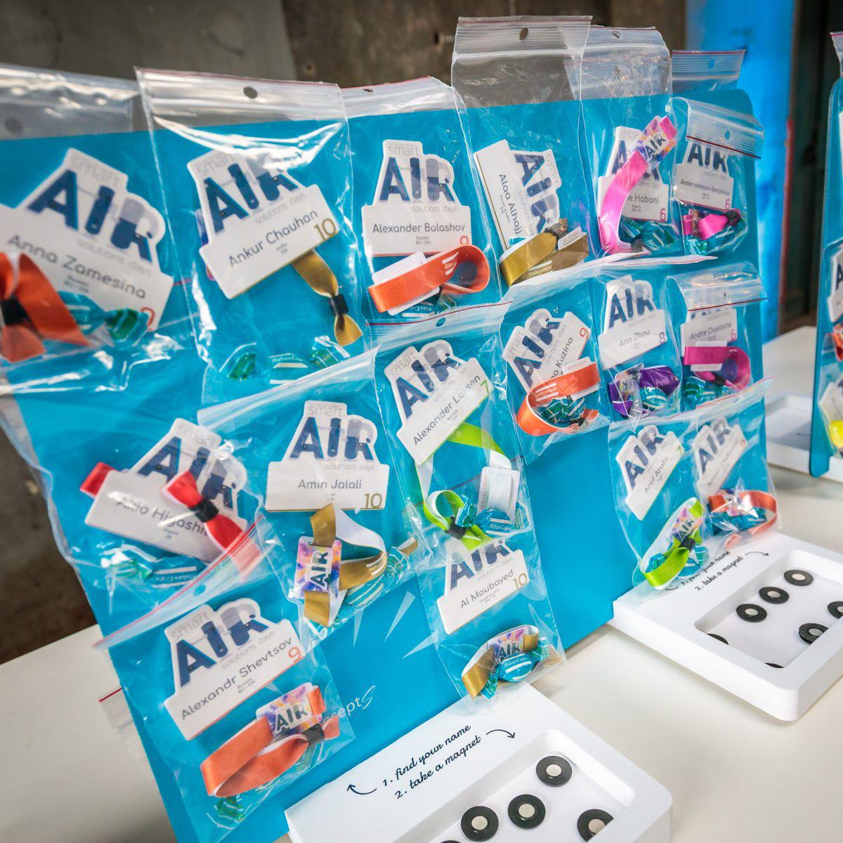 Atlas Copco conferentie organiseren