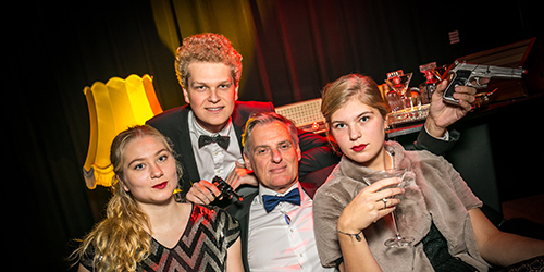 Thema-activiteit Gangster Chique