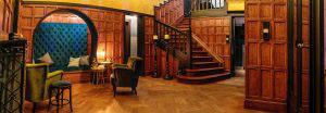 Villa Zwart Goud inkomhal