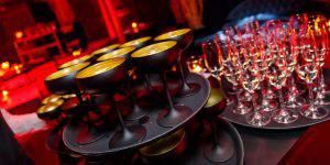 Champagne op team-evenement