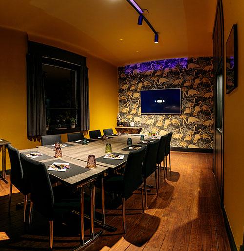 vergaderzaal business-arrangement Villa Zwart Goud