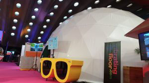 360° Dome Beurs