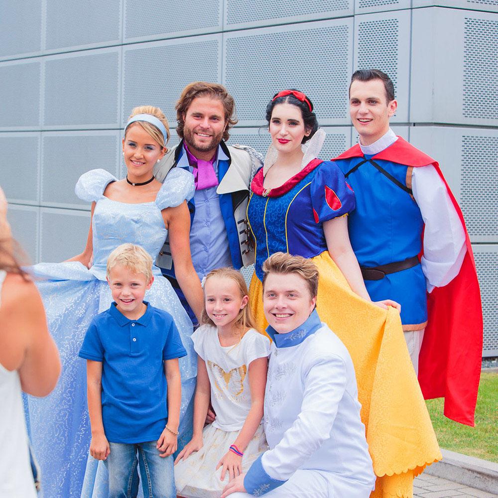 Familiedag Disney prinsessen
