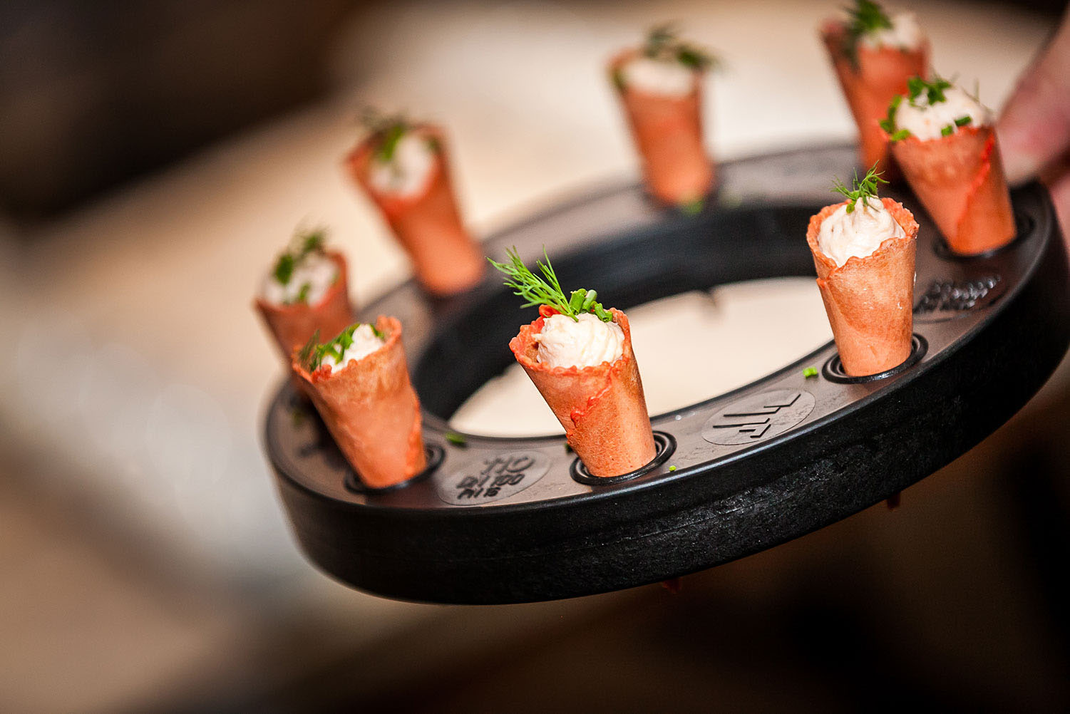 Productlancering catering