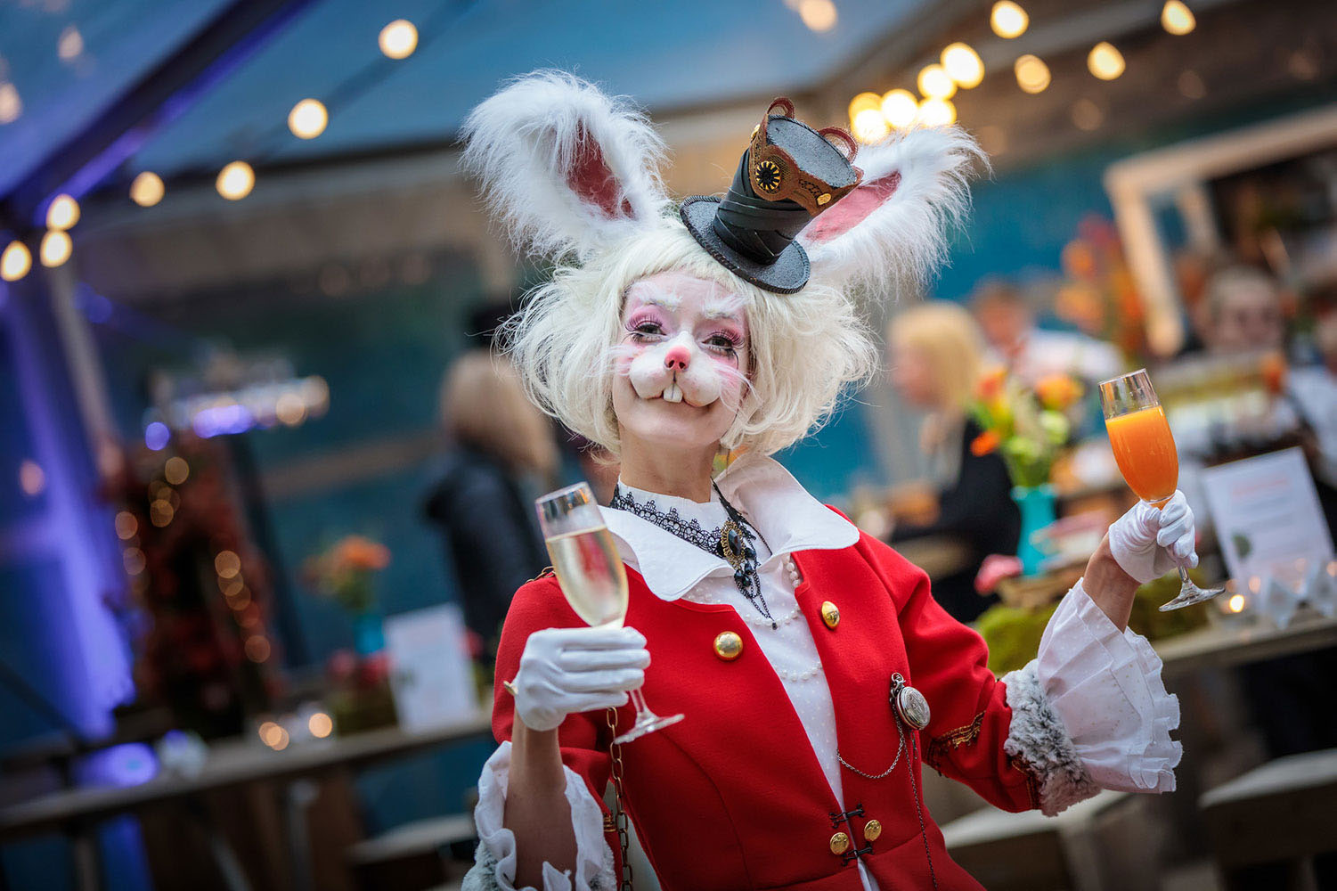 Themafeest Alice in Wonderland