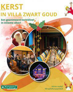 Vier Kerst in Villa Zwart Goud!