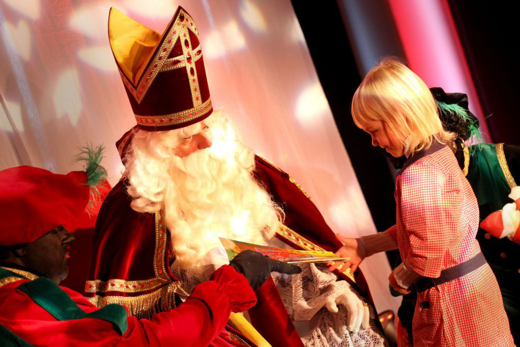 Sinterklaas op familiedag