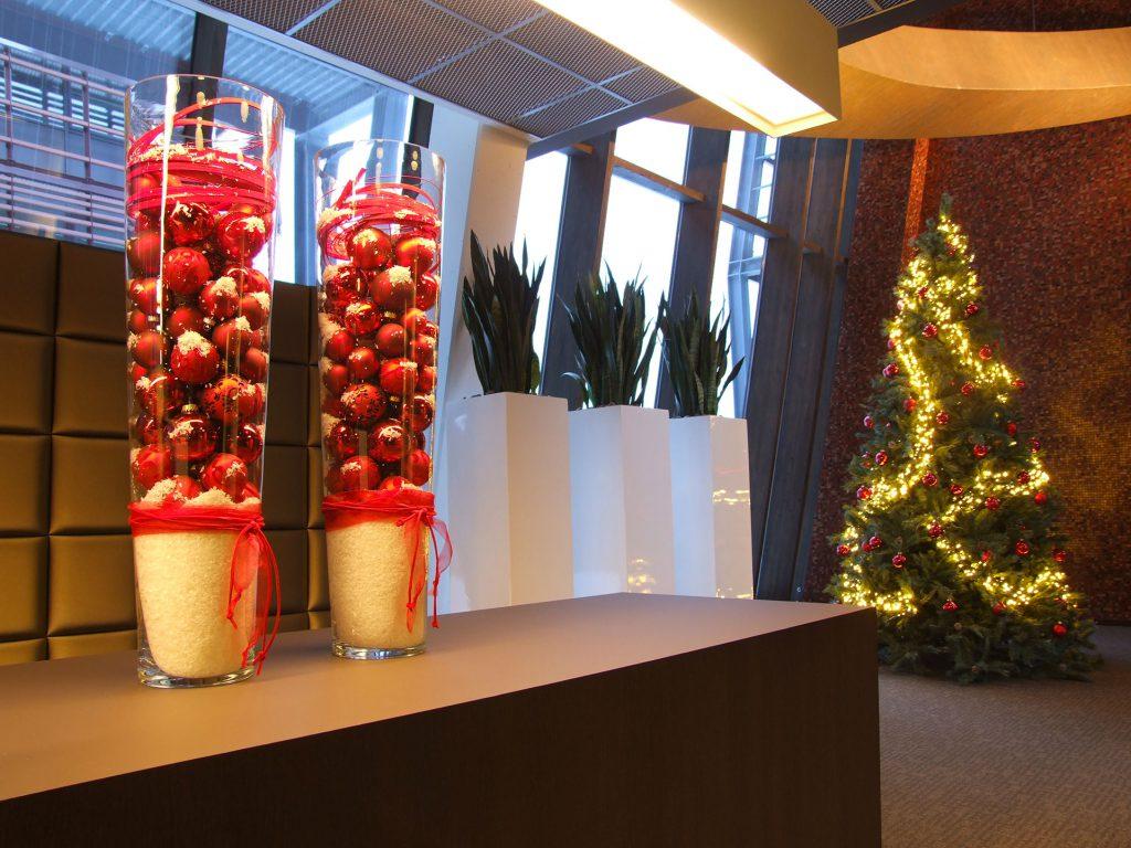 Vazen met kerstballen Plant-Axis